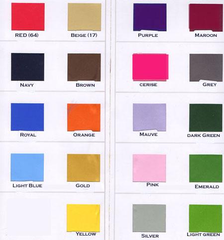 racing silks colour chart