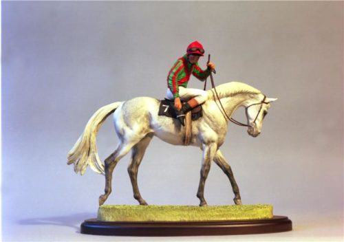 race horse sculpture